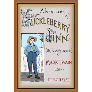 Adventures of Huckleberry Finn Front Cover