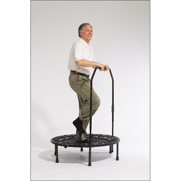Al Carter Mini Trampoline Exercise Bar