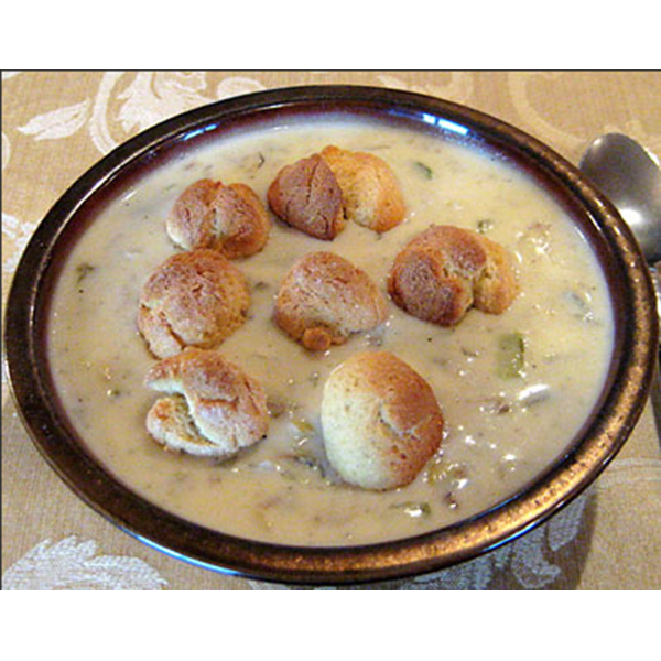 Clam Chowder with Dumplings