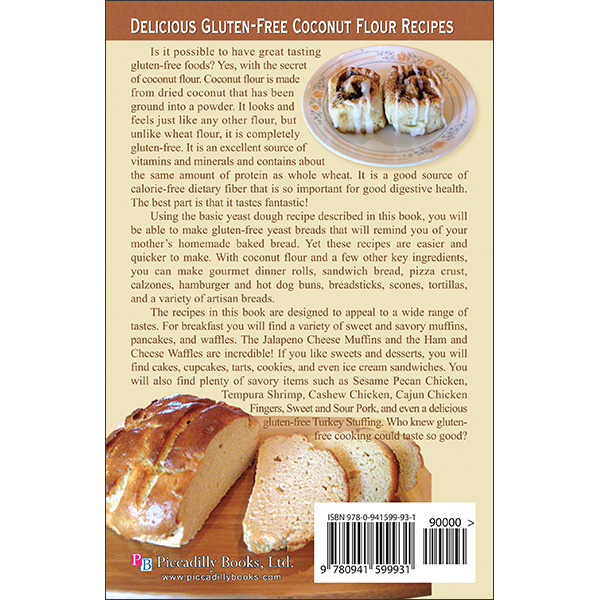Coconut Flour Gourmet Back Cover