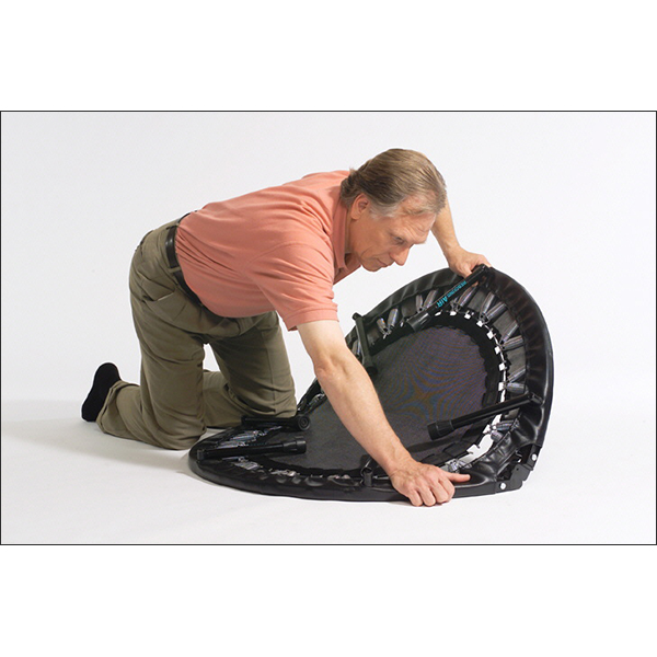 Folding Rebounder Demo Mini Trampoline