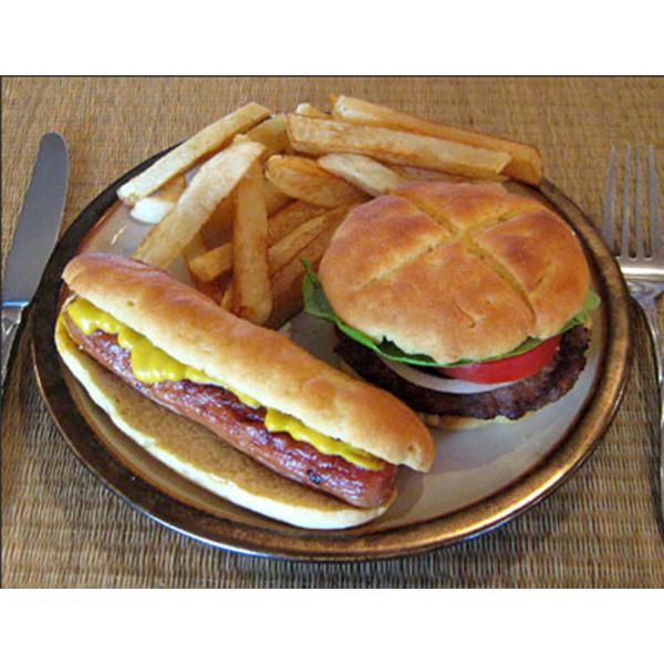 Hamburger and Hot Dog Buns