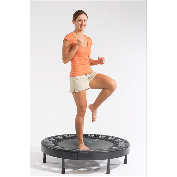 Kara Exercising Mini Trampoline