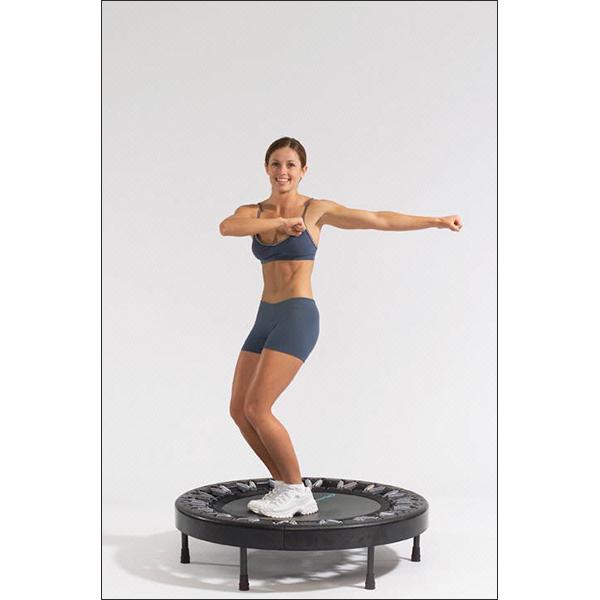Using Exercise Trampoline Rebounder