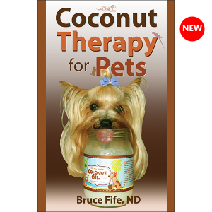 Coconut Therapy for Pets Front Cover New