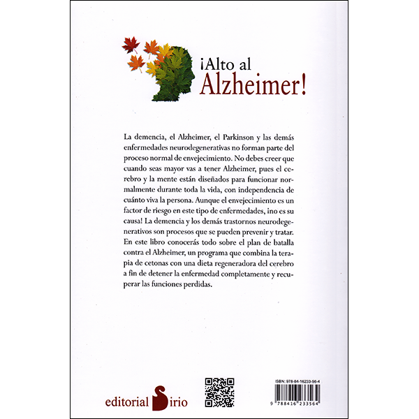 Stop Alzheimer's Now Spanish  Back