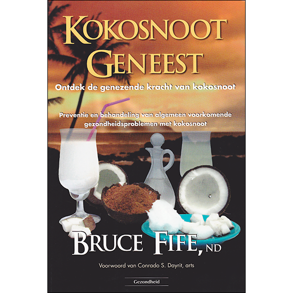 Coconut Cures front cover Dutch