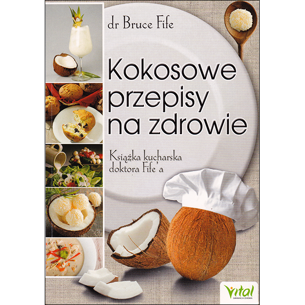 Coconut Lovers Cookbook Polish front cover