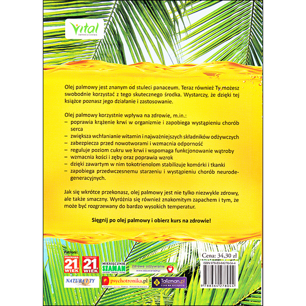 Palm Oil Miracle Polish back cover