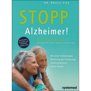 Stop Alzheimer's now German vol 1 front cover