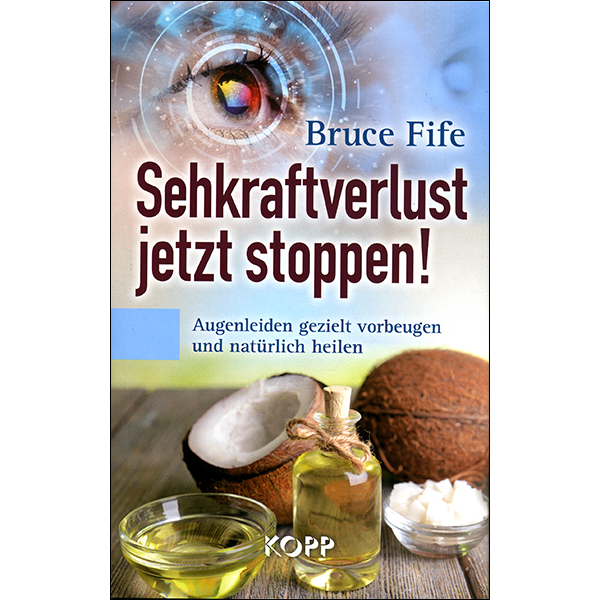 Stop Vision Loss Now German Front Cover