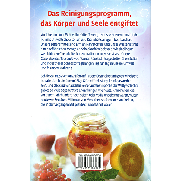 The Detox Book German Back Cover
