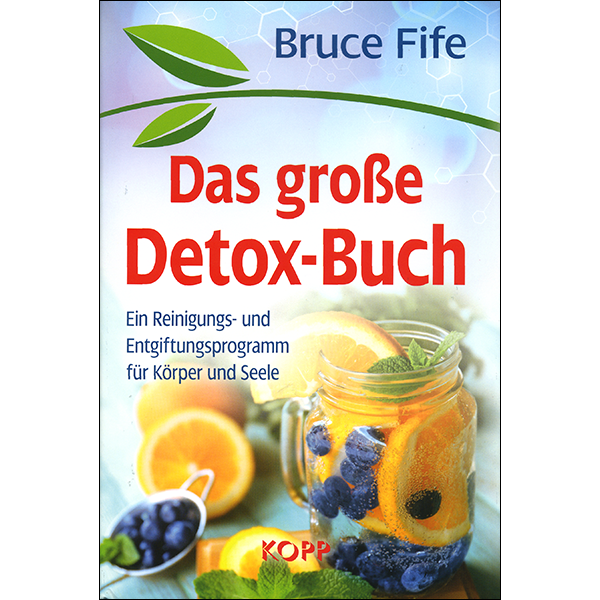 The Detox Book German Front Cover