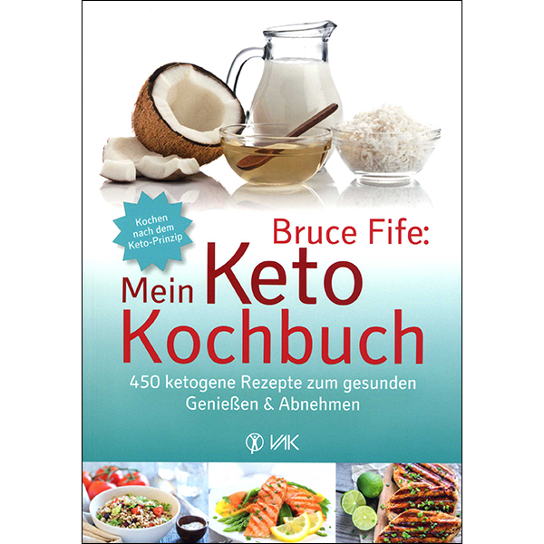 Dr. Fife's Keto Cookery German Front Cover