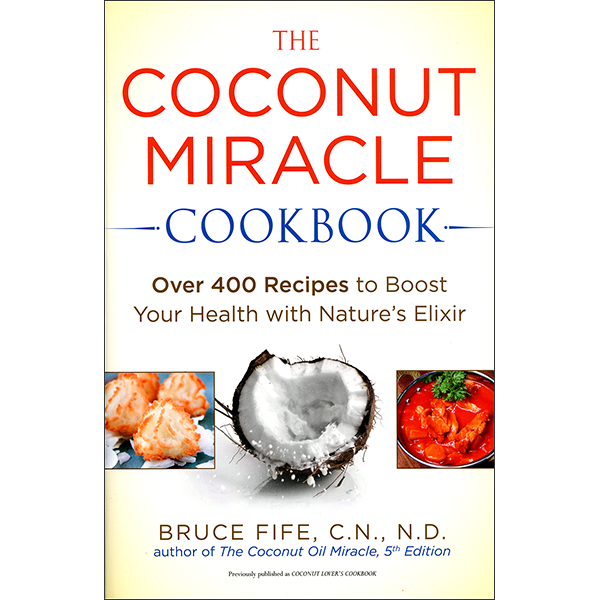 Coconut Miracle Cookbook Front Cover