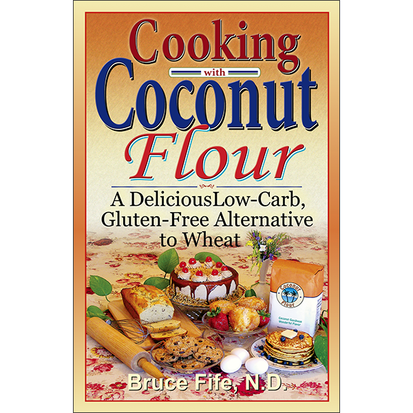 Cooking With Coconut Flour Front Cover