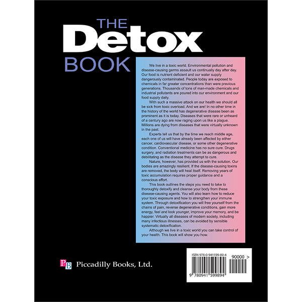 Detox Book 3rd Ed Back Cover