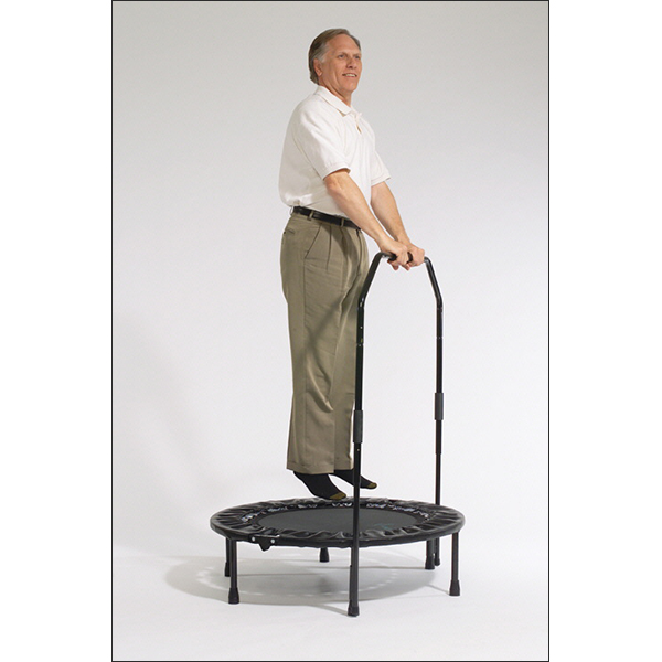 Exercise Bar Al Carter Mini Trampoline