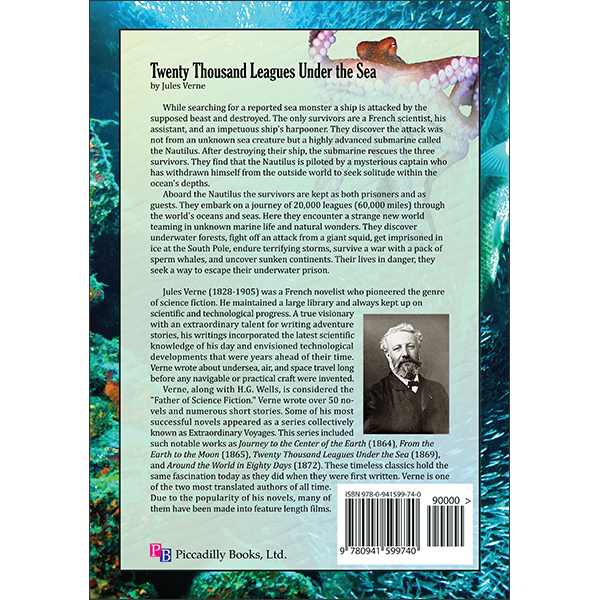 Twenty Thousand Leagues Back Cover