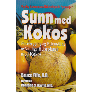 Coconut Cures Norwegian front cover