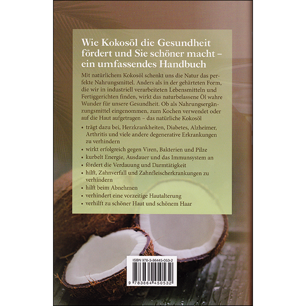 The Coconut Oil Miracle German back Cover
