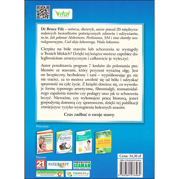 New Arthritis Cure Polish back cover