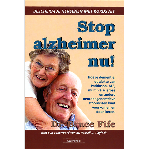 Stop Alzheimers Dutch front cover