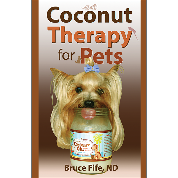 Coconut Therapy for Pets Front Cover