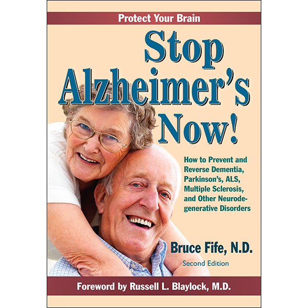 Stop Alzheimer's Now Front Cover 2nd Edition