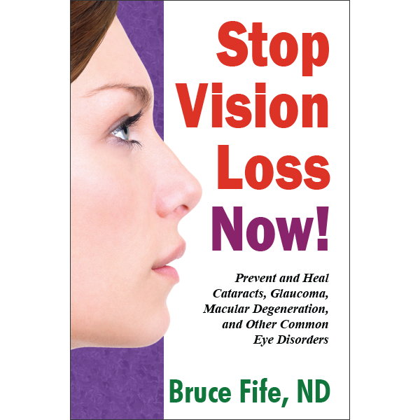 Stop Vision Loss Now Front Cover